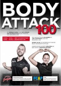 8 april bodyattack 100